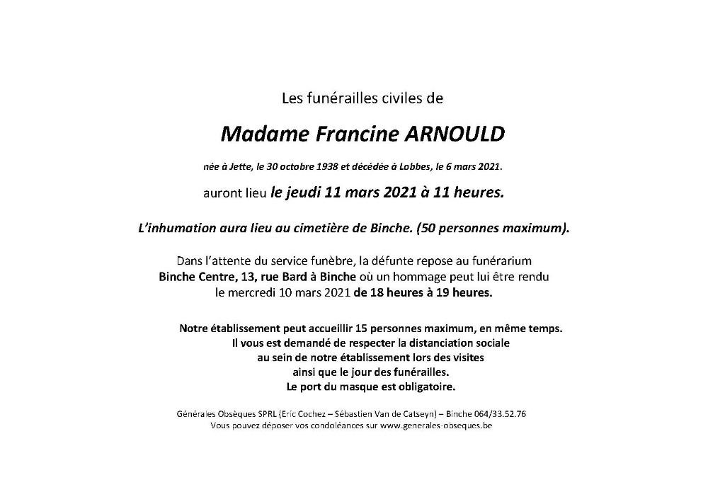 Arnould Francine