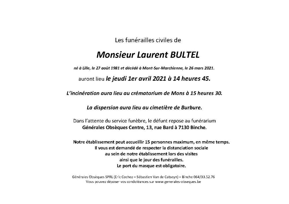 BULTEL Laurent