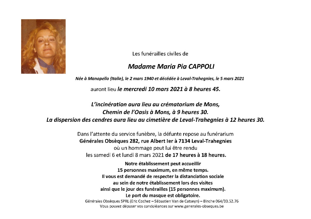 Cappoli Maria Pia