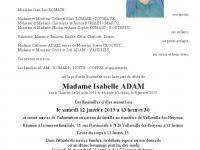 ADAM Isabelle