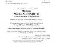 Aldrighetti Marthe