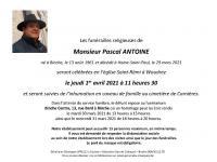 ANTOINE Pascal