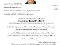 Monsieur Jean BAETENS