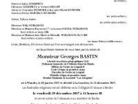 BASTIN Georges