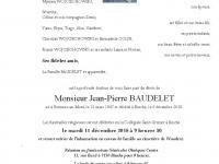 Baudelet Jean Pierre