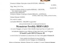 BERNARD Freddy
