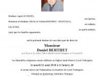 BERTHET Daniel