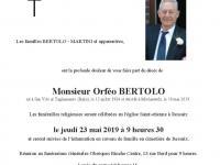 Bertolo Orféo