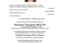 Monsieur Panagiotis BESCOS