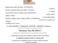 BLARIAU Max
