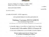 Boogaerts Lucienne