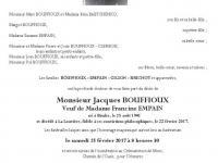 BOUFFIOUX Jacques