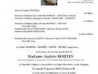 BOUTEN Andrée