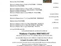 BREMIELST Claudine