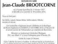 Brootcorne Jean-Claude