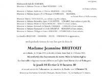 Brutout Jeannine