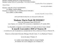 Buisseret Marie Paule