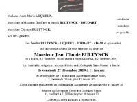 BULTYNCK Jean-Claude