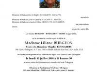 BURGEON  Liliane