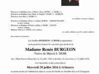 Burgeon Renée