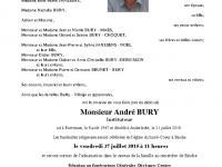 BURY André