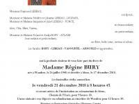 Bury Régine