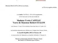 CAFFEAU Yvette