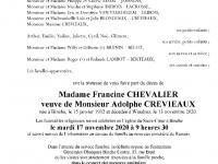 Chevalier Francine