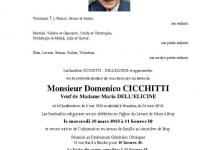 CICCHITTI Domenico