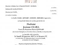 CLARA Josiane