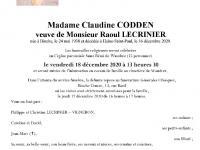 CODDEN Claudine