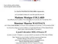 Collard Monique et Wastiaux Maurice