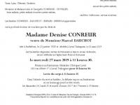 CONREUR Denise