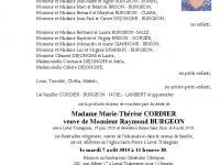 CORDIER Marie-Thérèse