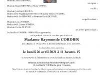 Cordier raymonde