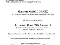 Cornez Michel
