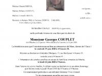 Couplet  Georges
