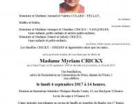 Crickx Myriam