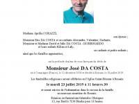 DA COSTA José