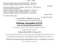 DAVE Jacqueline