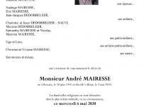 Mairesse André