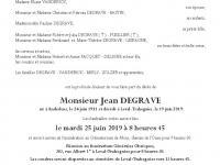 DEGRAVE Jean