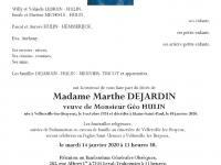 DEJARDIN Marthe