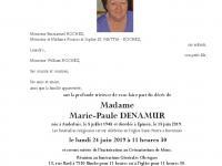 DENAMUR Marie Paule