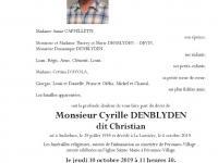 Denblyden Cyrille
