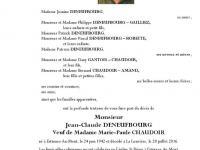 DENEUFBOURG Jean-Claude