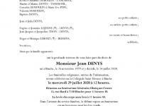 DENYS Jean