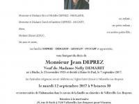 DEPREZ  Jean