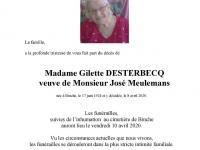 Desterbecq Gilette