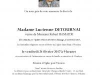 Detournai Lucienne